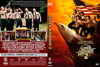 Super Troopers 2 - Super Maderos 2 - Cover DVD